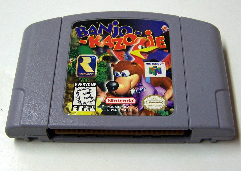 Banjo Kazooie  ~ N64 Nintendo 64 Game Cartridge