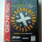 Revolution X Sega Genesis Game COMPLETE
