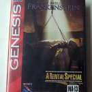 Mary Shelly's Frankenstein Sega Genesis Game COMPLETE