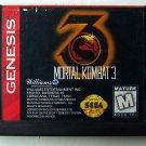 Mortal Kombat 3 Sega Genesis Game