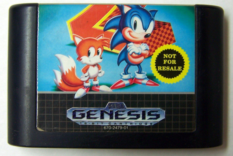 Sonic the Hedgehog 2 Sega Genesis Game NFRS