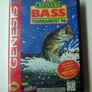 Tnn Outdoors Bass Tournament 96 Sega Genesis Game COMPLETE