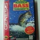 Tnn Outdoors Bass Tournament 96 Sega Genesis Game COMPLETE