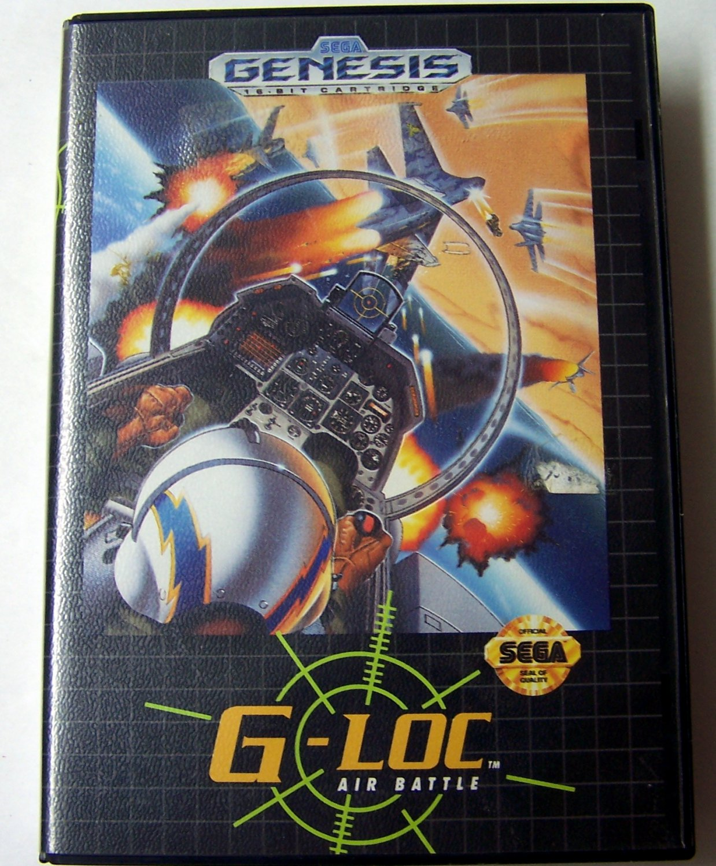 G-Loc Sega Genesis Game COMPLETE