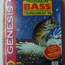 TNN Outdoors Bass Tournament 96 Sega Genesis Game