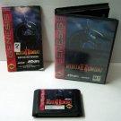 Mortal Kombat 2  MKII  Sega Genesis Game