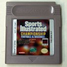 Sports Illustraited Championship Football & Baseball  Nintendo Game boy