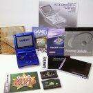 Nintendo Game Boy Advance SP Cobalt Blue GBA SP