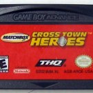 Matchbox CrossTown Heroes Nintendo Game boy Advance GBA