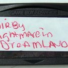 Kirby Nightmare in Dream Land  Nintendo Game boy Advance GBA