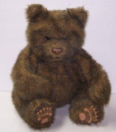 Fur Real Luv Cubs Brown Bear Cub Tiger Electronics Interactive Realistic