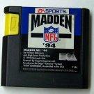 MAdden 94  Sega Genesis Game