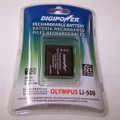 Digipower Rechargeable Battery replacement Olympus Li-50B