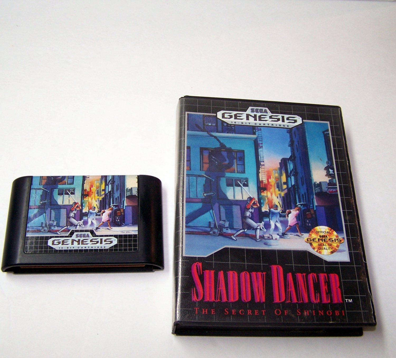 Shadow Dancer the Secret of Shinobi Sega Genesis Game