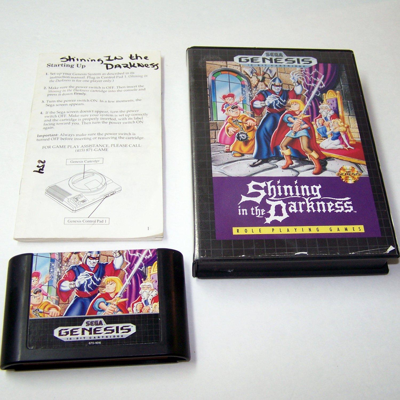 Shaq Fu Enforcer of Justice Sega Genesis Game Complete