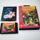 Tom Mason's Dinosaurs for hire Sega Genesis Game