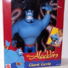 1992 Mattel DISNEY'S ALADDIN 12 INCH GIANT GENIE Action Figure NEW (RARE!)