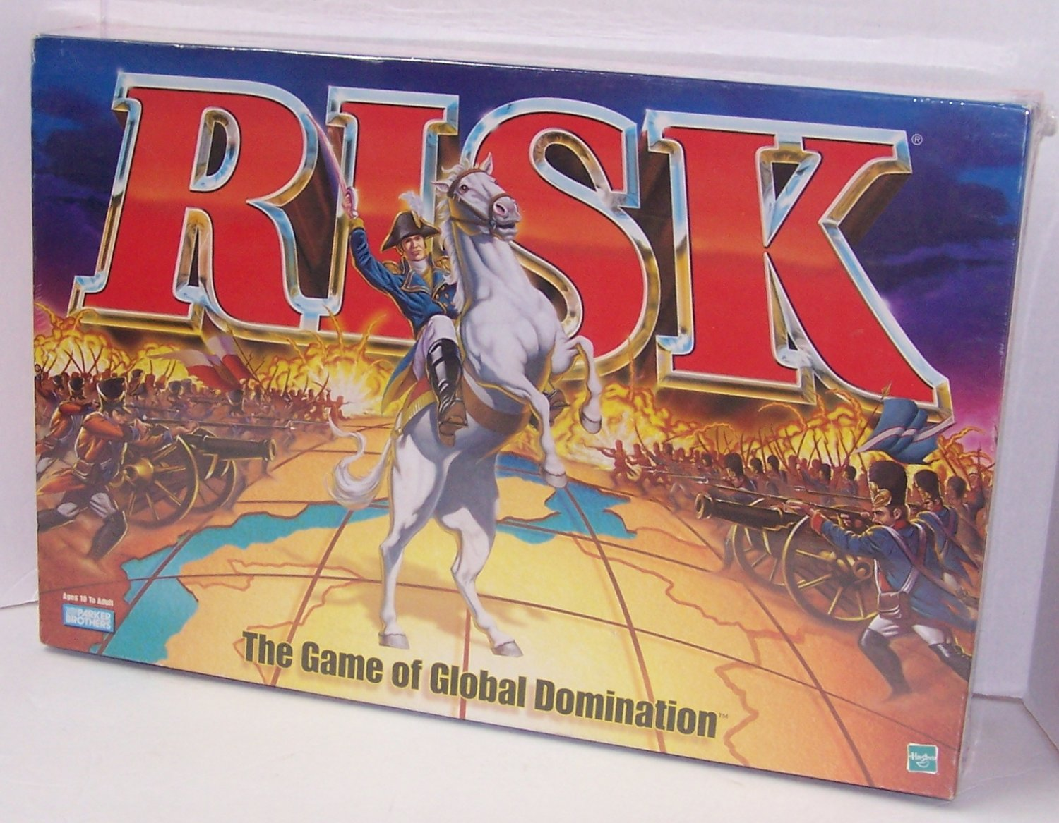 Risk The Game of Global Domination 1998 Board Game With Army shaped Pieces resealed