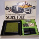1971 Score Four  No 8325 The fascinating new three dimensional family game by Funtastic