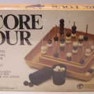 1974 Score Four  No 8325 The fascinating new three dimensional family game by Funtastic
