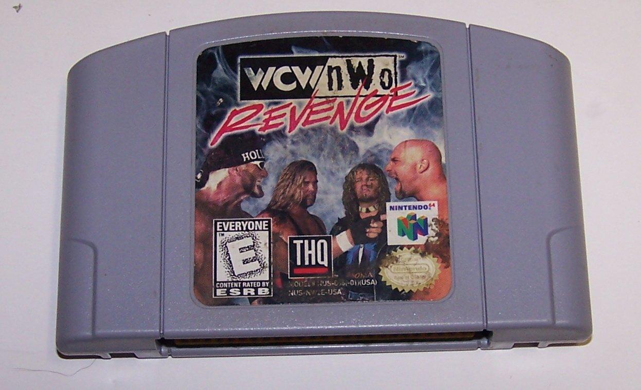 WCW/NWO Revenge N64 Nintendo 64 Nintendo 64 Game Cartridge