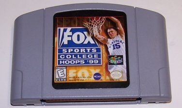 Fox Sports College Hoops 99 - N64 Nintendo 64 Game