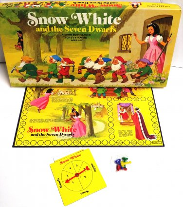 Snow White and the Seven Dwarfs a Cadaco Storybook Classic Game