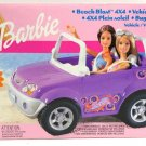 Barbie Beach Blast 4 x 4 Vehicle with Stylish Sporty Design