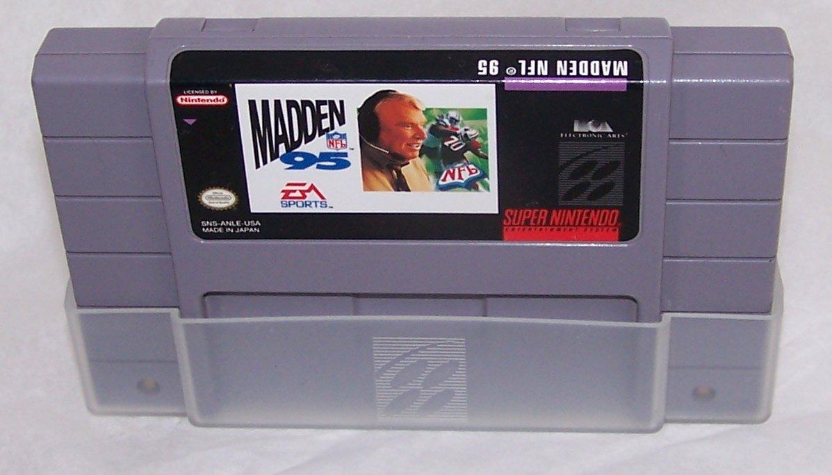 Madden NFL '95 Super Nintendo Game