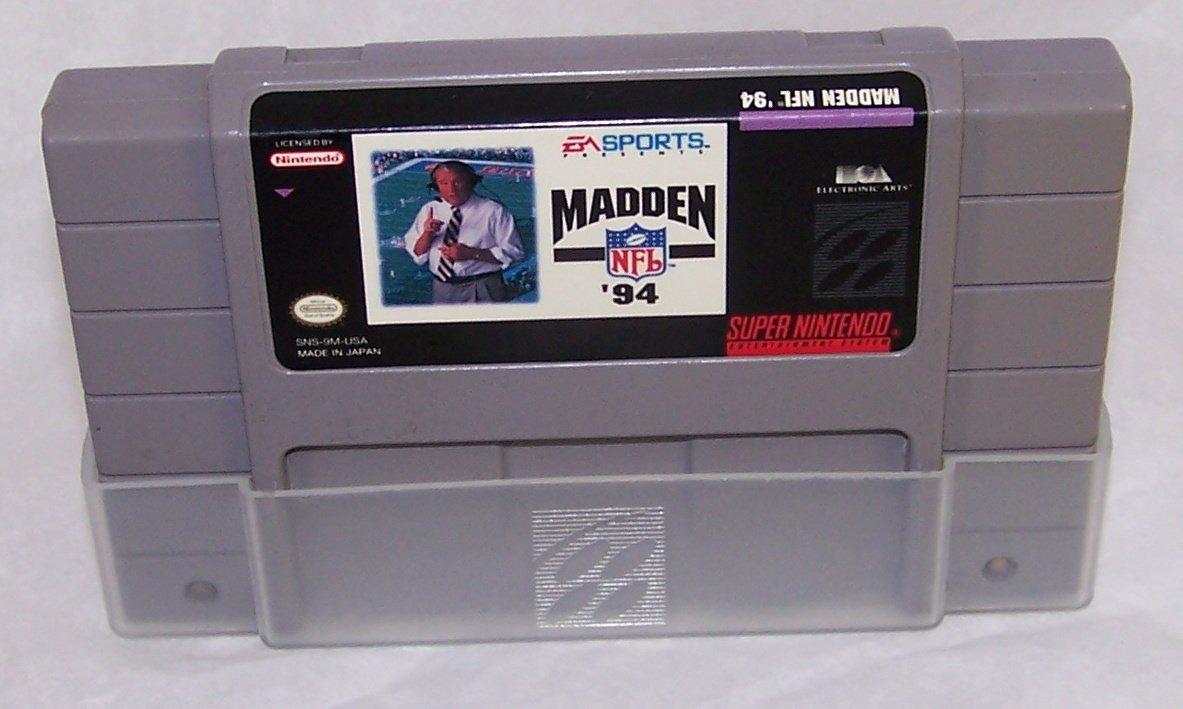 Madden 94 Super Nintendo Game