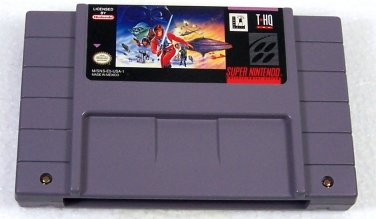Super Star Wars The Empire Strikes Back Super Nintendo Game Cartridge