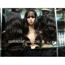 Lace front wigs brazilian virgin hair 10-24