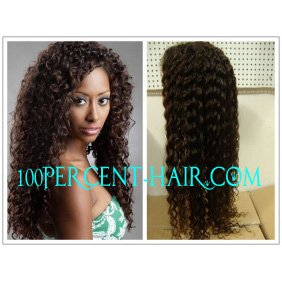 Full lace wigs 100% brazilian virgin hair deepcurl