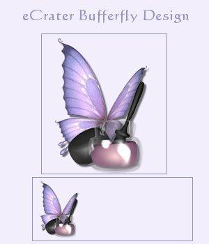 eCrater Bufferfly Design