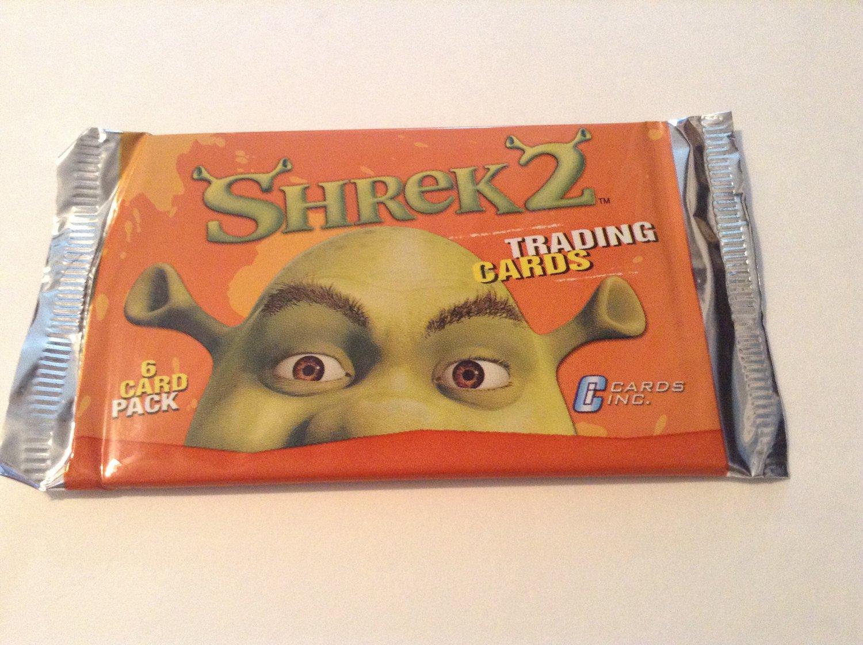 Shrek 2 Trading Cards Booster Pack