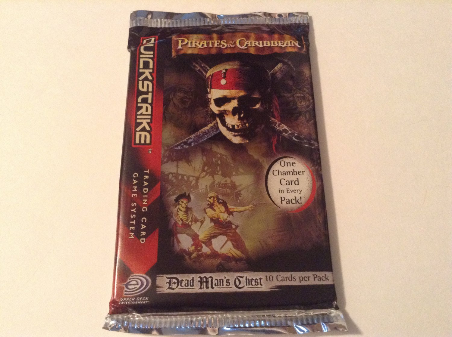 The Pirates of the Caribbean Trading Card Pack
