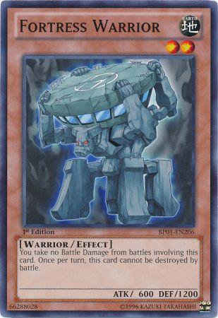 Yugioh Card Fortress Warrior - BP01-EN206 - Common 1st Edition