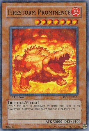 Yugioh Card Firestorm Prominence - STON-EN026 - Common 1st Edition