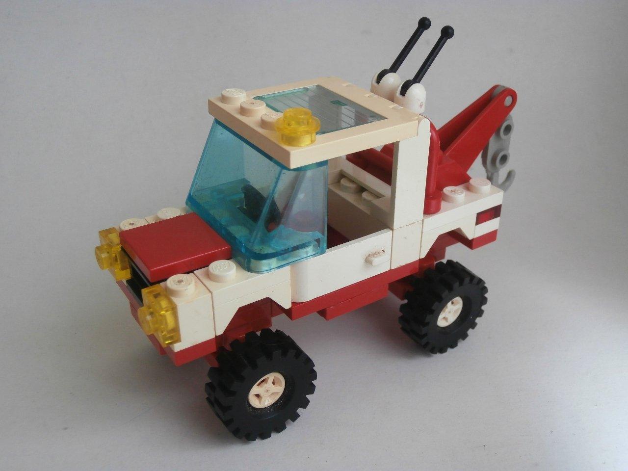 Lego System Town 6660-1 Hook & Haul Wrecker 1989
