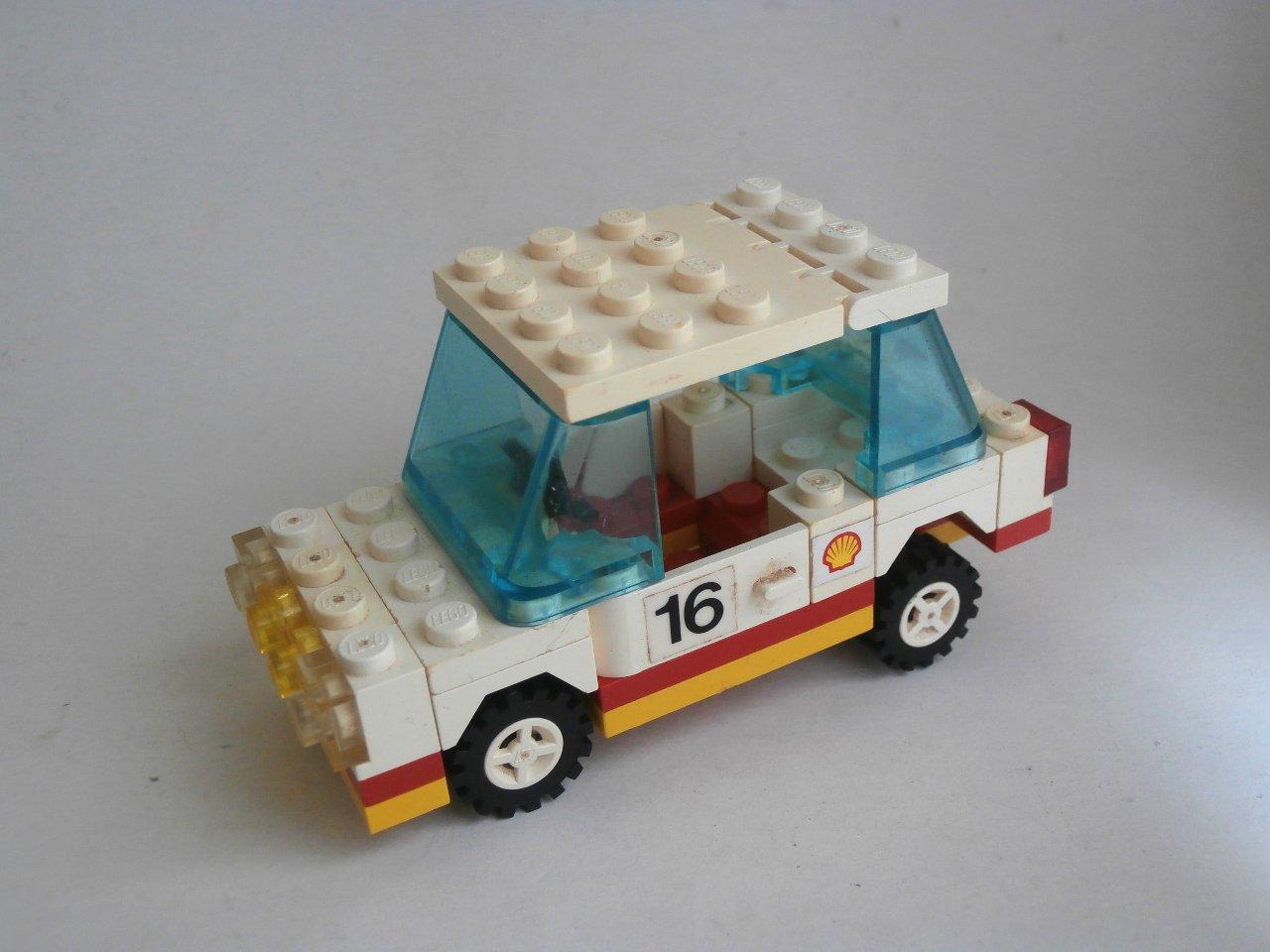 Lego Classic Town 6634-1 Stock Car 1986 Set