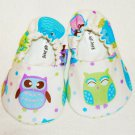 Baby Booties - Owl - (9-12 mo)
