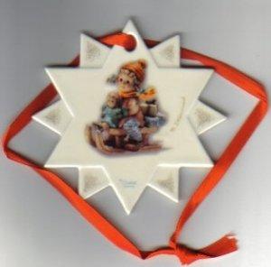 "Hummel Christmas Tree Ornament ""Christmas Delivery"""