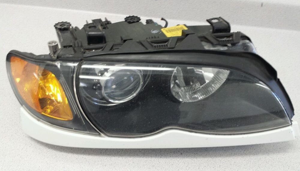 BMW E46 330i 325i 328i 320i Driver Headlight Bi Xenon Left MINT OEM ZKW HID