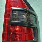 Mitsubishi Montero XL Passenger's Side Tail Light 2001-02 Right Side Black