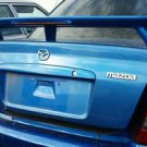 1999-2003 Mazda Protegé MP3 OEM Factory Original Trunk Spoiler w/Light -- Blue