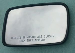 2002-08 BMW 7 SERIES E65 E66 RIGHT DOOR MIRROR GLASS AUTO DIMMING + Heated PASS