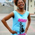 African Queen Tunic Aqua