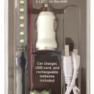 Rechargeable Pen Light with car charger