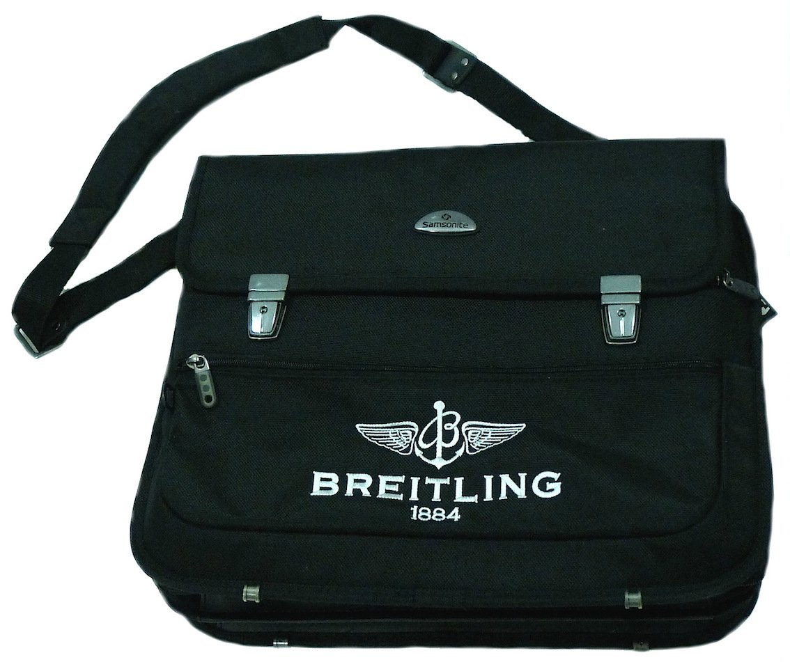 BREITLING BY SAMSONITE LAPTOP BRIEFCASE PRE-OWNED AUTHENTIC