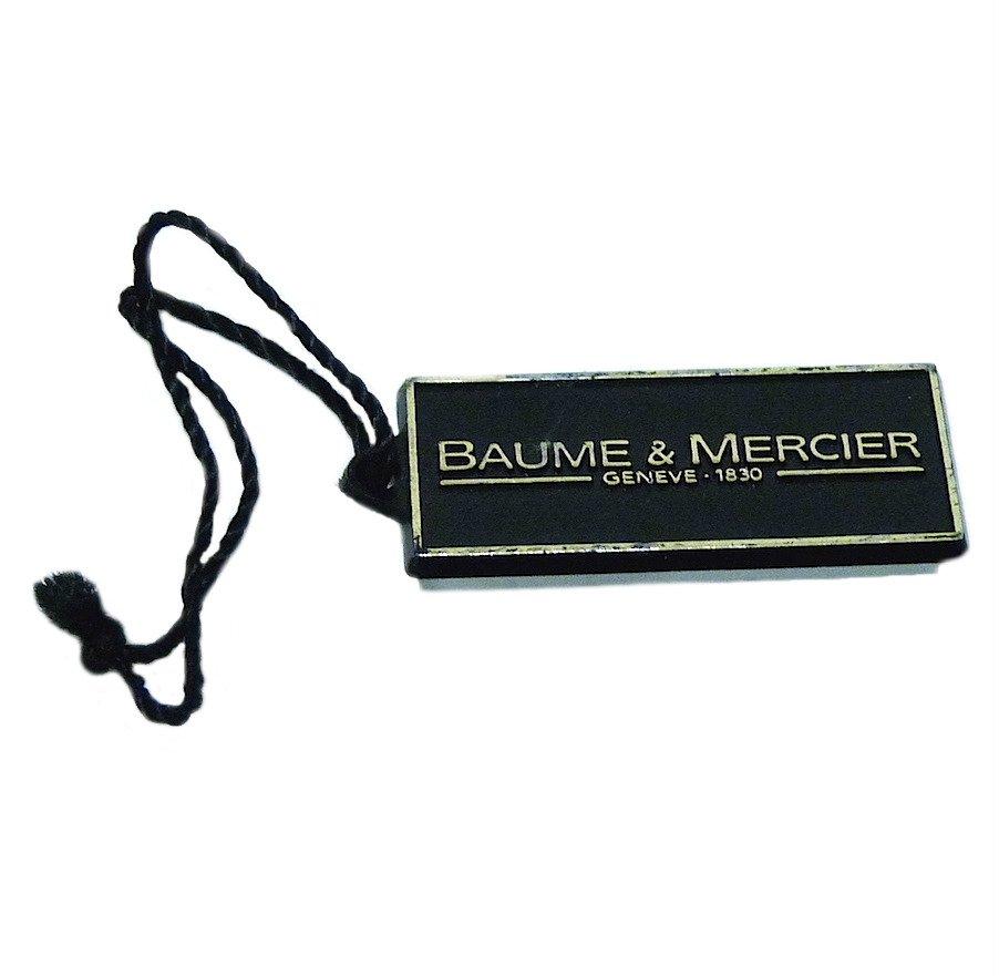 Baume & Mercier Watch Plastic Hang Tag Authentic
